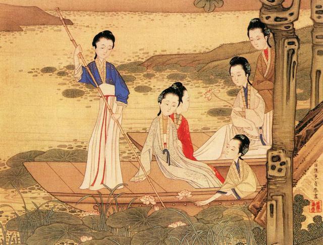 古代手绘国色手绘美人