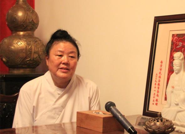 腾讯道学专访道教第一位女方丈吴诚真