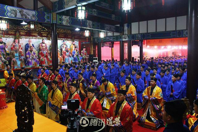 2016年内地正一派初授箓活动在天师府举行