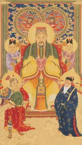 天皇大帝、紫薇大帝與北斗七星為何稱作「九皇」