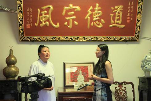 中国首位道教女方丈谈当今道教的发展现状