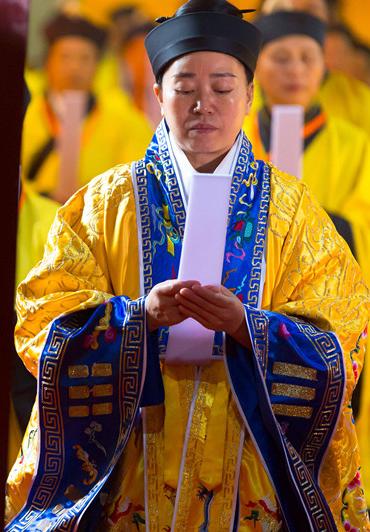 组图:武汉长春观传戒活动——真武朝科