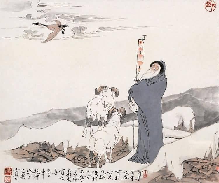 苏武不辱使命:信仰的力量铸就麒麟阁功臣(上)