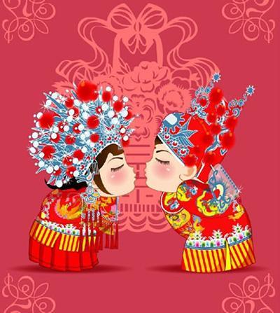 """中国传统婚礼中的""""三书六礼""""是什么?"""