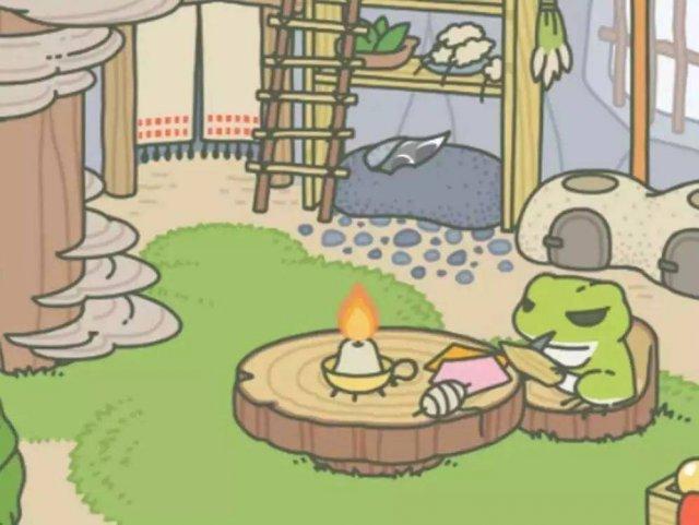 旅行青蛙:你身上有我最深的牵挂