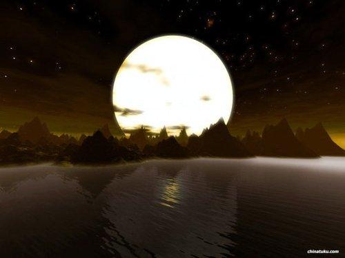 沙行勉:中秋月亮谈学佛(图)