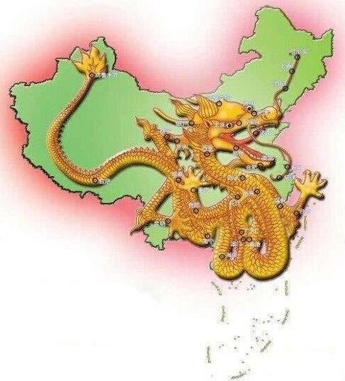 历代王朝龙脉 中华民族的动脉