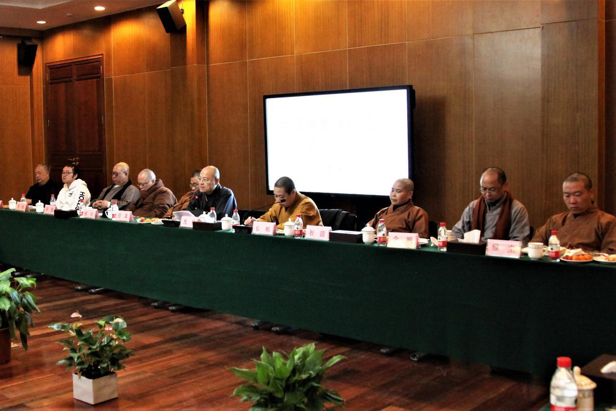 中国佛教讲经交流基地2017年度总结会议在杭州灵隐寺举行