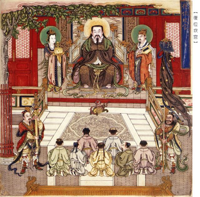 玉京尊神——玄天上帝