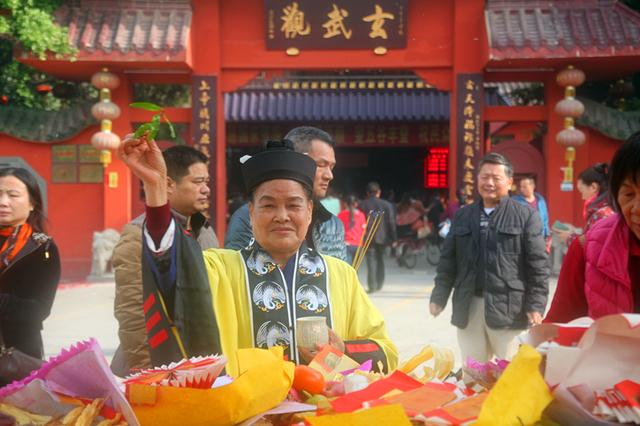 深圳市玄武观丙申年圆年酬神祈福法会