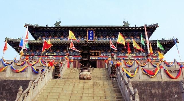 静乐宫三月三日将隆重举办盛大庙会