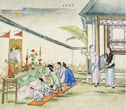 八月中秋月圆圆——伍虎勇道长和颐叔共话道教民俗