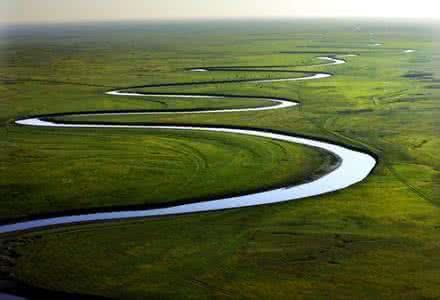 河流为什么不走直路?懂得拐弯是一种大智慧!