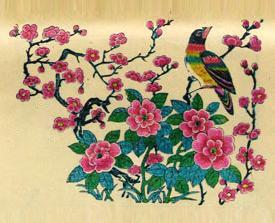 春节年画 吉祥图案送吉祥