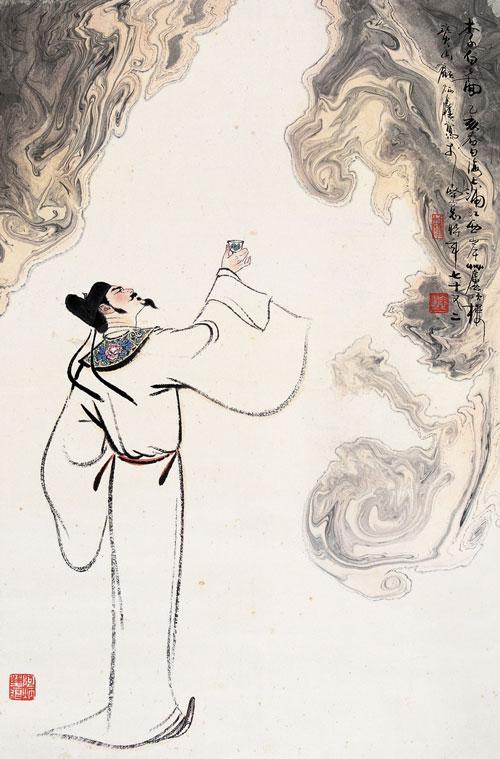 诗仙李白爱旅游 27年横跨18省登上80多座山