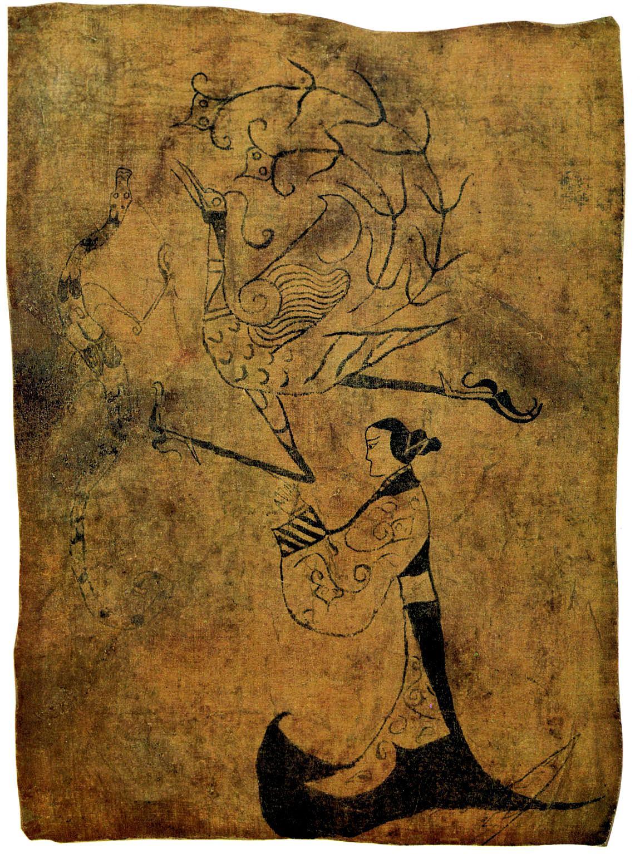 御龙而飞,美往事之登仙:国宝背后的神仙思想