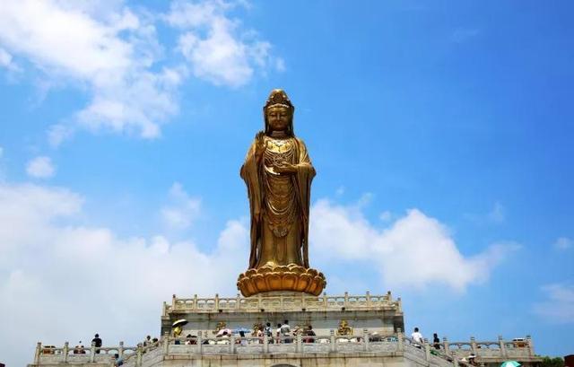 佛国盛典!普陀山南海观音开光二十周年庆典隆重举行