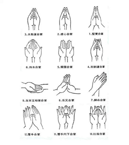 繁复的手印代表什么?看懂佛像的肢体语言
