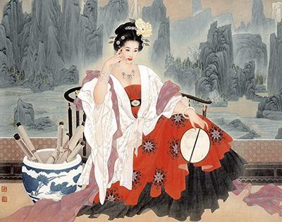 惊艳了时光的女子:从诗经中缓缓走来的庄姜