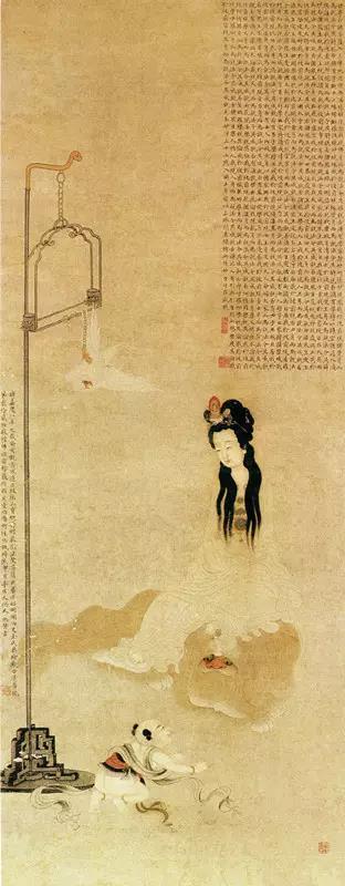 艺术作品赏汉服:清扬若女,松石如郎