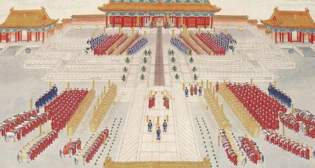 揭起皇后的盖头来:清代皇帝大婚礼仪
