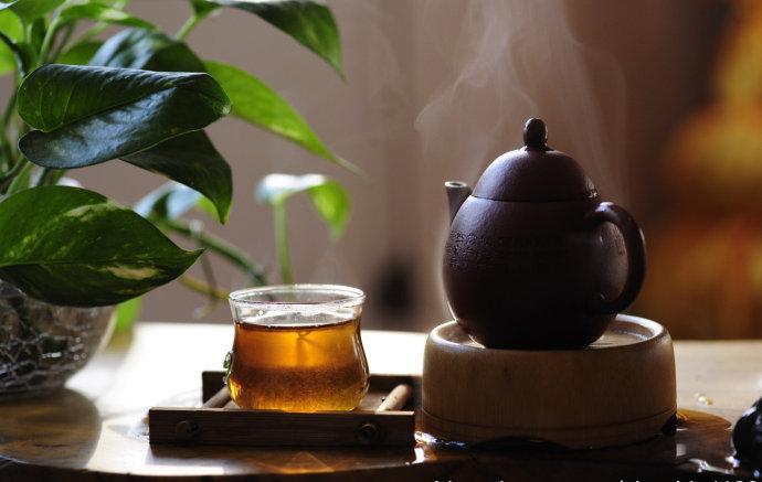 喝茶 只有两个动作:拿起和放下!