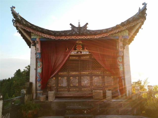 文运福地——云南盈江青云寺道观举行修缮重建启动仪式