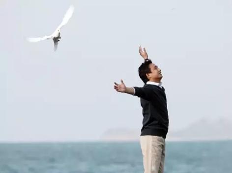 演员黄磊学佛心得:信仰能让你放下比较