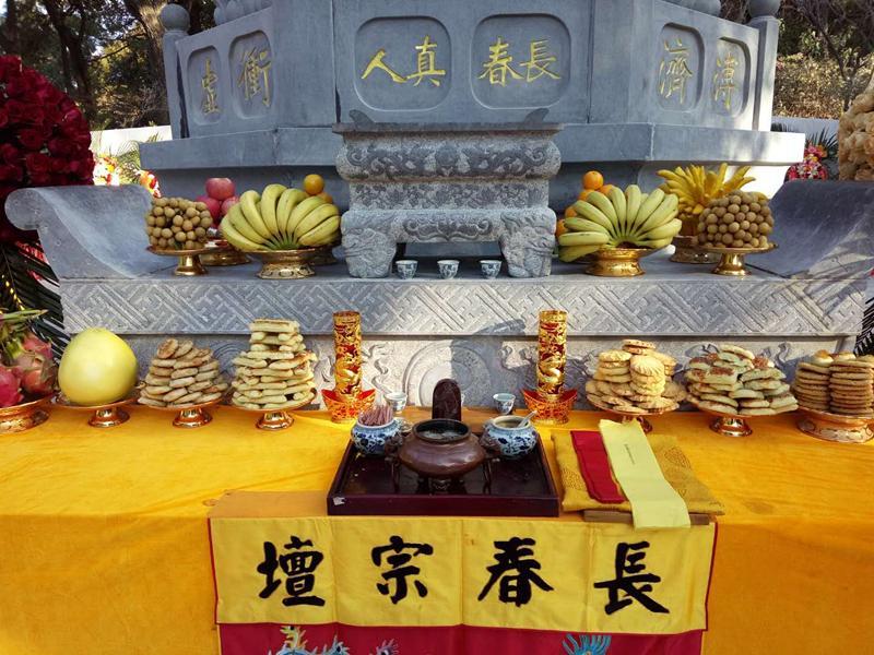 纪念刘渊然丨昆明龙泉观长春兴教塔林竣工落成典礼