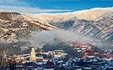 雪后天晴五台山:佛国净界