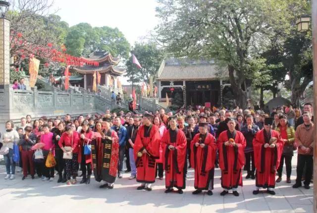 酬谢神恩 福满人间:广州纯阳观举行丙申年酬神法会