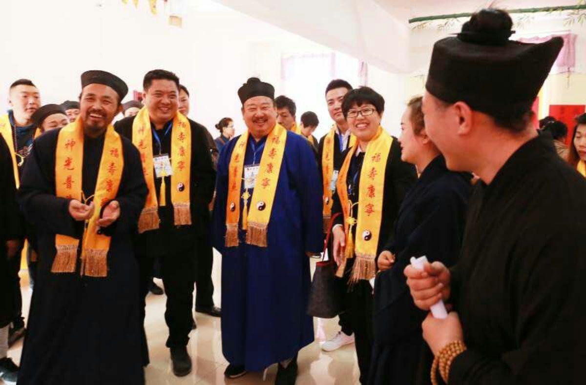"""双辽市崇圣宫举办""""首届双辽道家民俗文化节""""活动"""