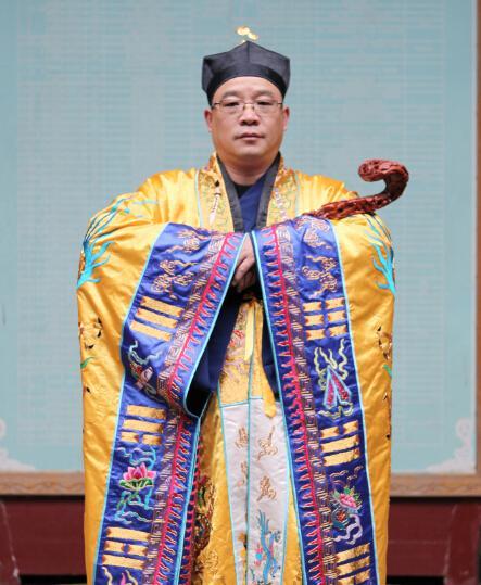 专访张金涛:誓愿弘深建设祖庭 为道教发展把脉