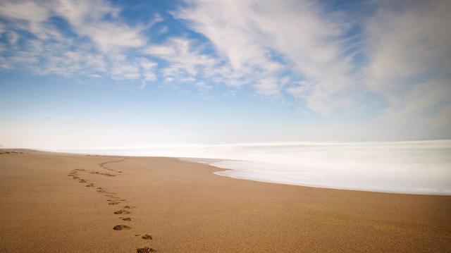 林清玄:把烦恼写在沙滩上