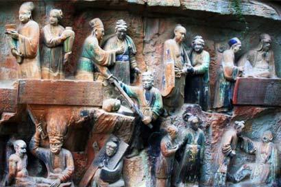 正信的佛教只承认,鬼道及地狱道众生与阎王的职权有关。(图片来源:资料图片)