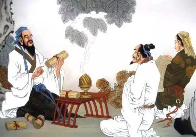 """孔子教育成""""人""""的核心是哪""""四教""""?"""