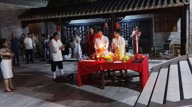 丙申中秋 广州白云仙馆举行追月祈福法会