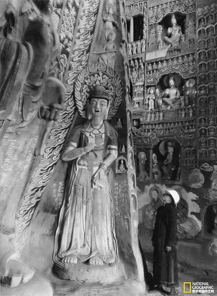 30年代的云冈石窟 原来是这般模样