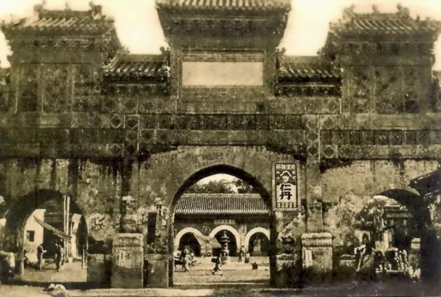 """有图有真相 还原老北京""""东岳庙""""牌楼的历史"""