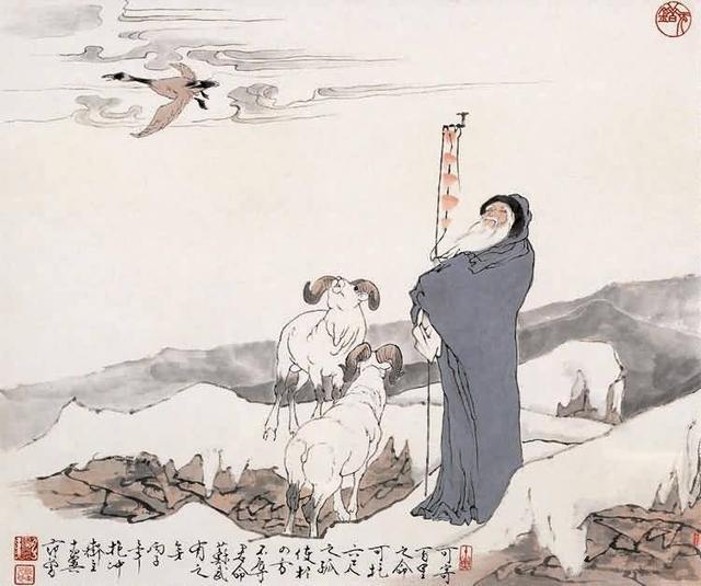 苏武不辱使命:信仰的力量铸就麒麟阁辉煌人生(上)