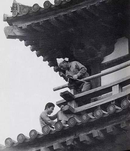 千年法隆寺最后的宫殿木匠丨佛缘