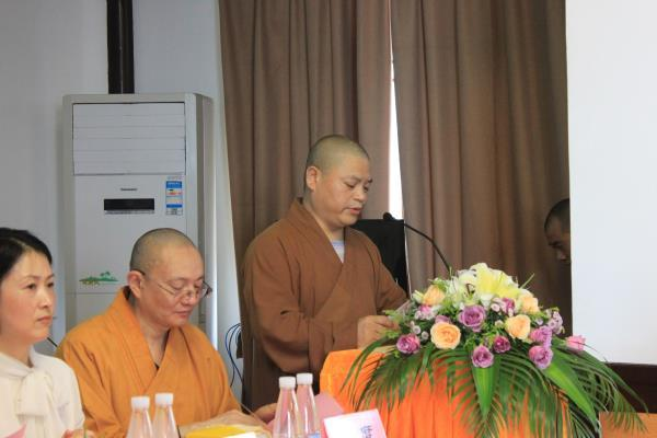 中国佛学院灵岩山分院举行第十九届学僧开学典礼