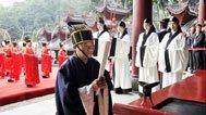 都江堰文庙2013秋季祭孔