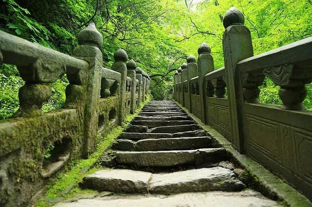 准备天梯上大罗:道教建筑形式之阶梯