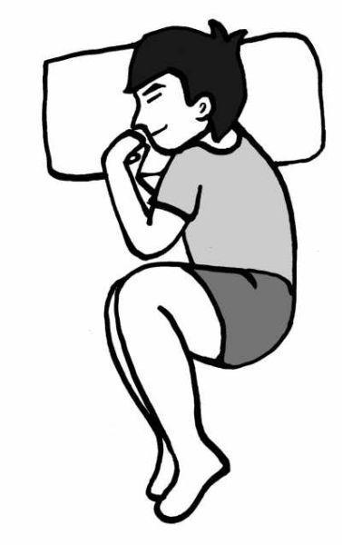 中医养生三种神奇睡姿 让你睡得舒服又健康