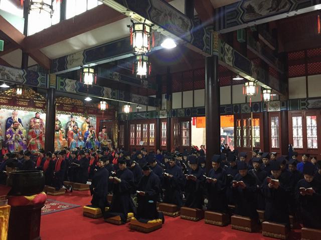 天师府举行丙申年二月十五传度法会