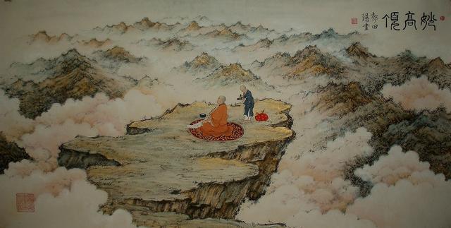 ��虚大师 妙高禅师与韦陀菩萨