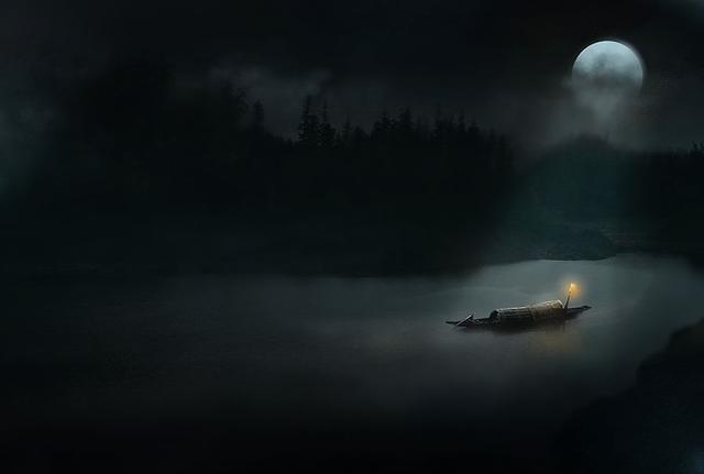 观月之影,观人之心