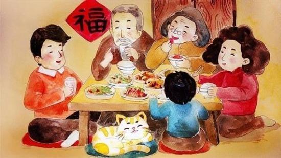 春节本就是一个合家团圆的日子(资料图)