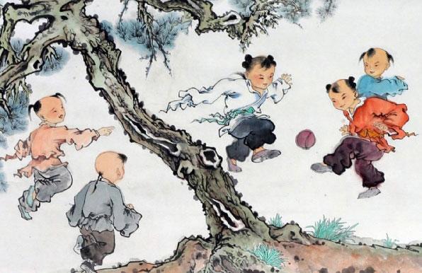 二郎显圣真君好球技:古代蹴鞠业行业神崇拜